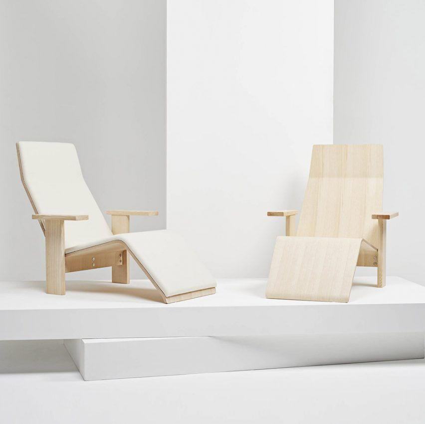 Bouroullec Brothers Design Minimal Ash Wood Chaise Lounge For Mattiazzi Italian Furniture Brands Interior Design Chair Small Bedroom Decor