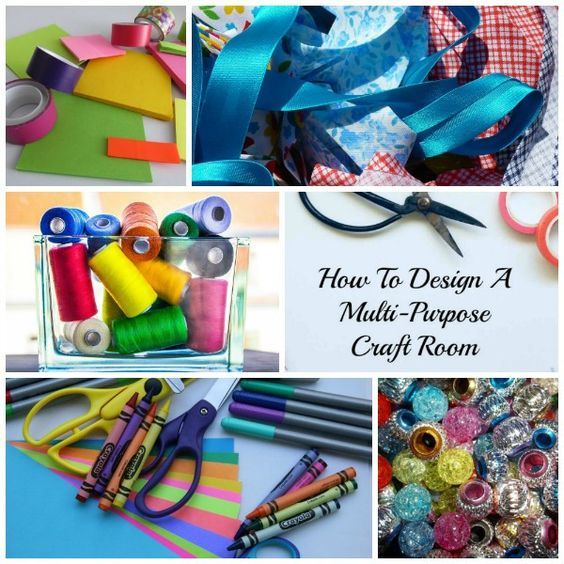 How To Organize Design A Multi Purpose Craft Room Craft Room