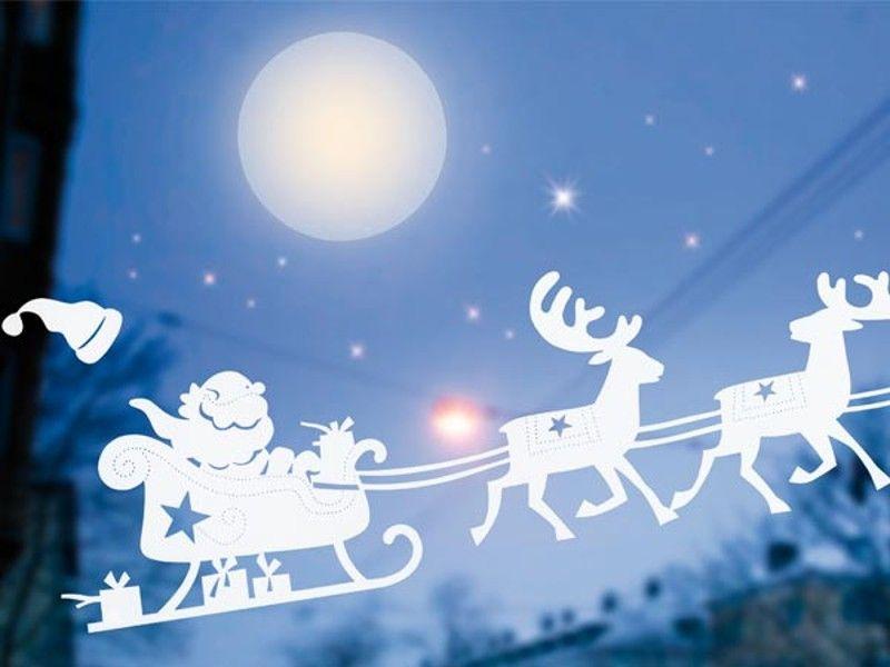 Bastelideen: Fensterbilder zu Weihnachten | Silhouettes, Xmas and ...