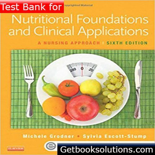 Test bank for nutritional foundations and clinical applications a test bank for nutritional foundations and clinical applications a nursing approach 6th edition by grodner testbank pinterest textbook fandeluxe Images