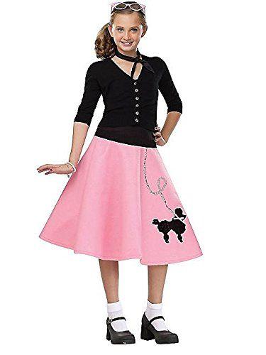 Black Friday Deal Fun World Poodle Skirt Medium (8-10) from Fun - black skirt halloween costume ideas