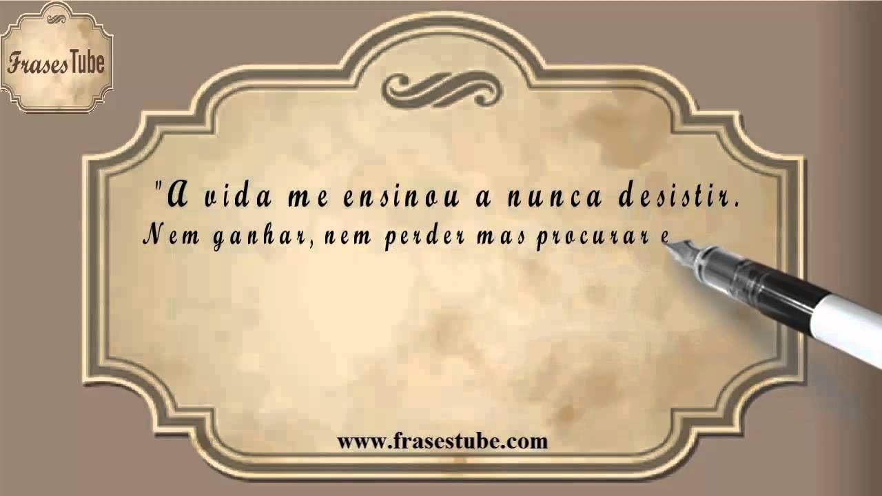 Frases De Chorão 02 A Vida Me Ensinou A Nunca Desistir Nem Ganhar