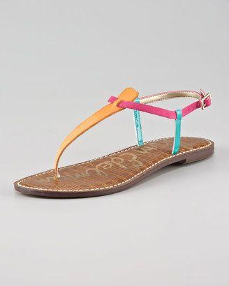 bc107034e092 Sam Edelman Gigi Colorblock Strap Sandal - ShopStyle