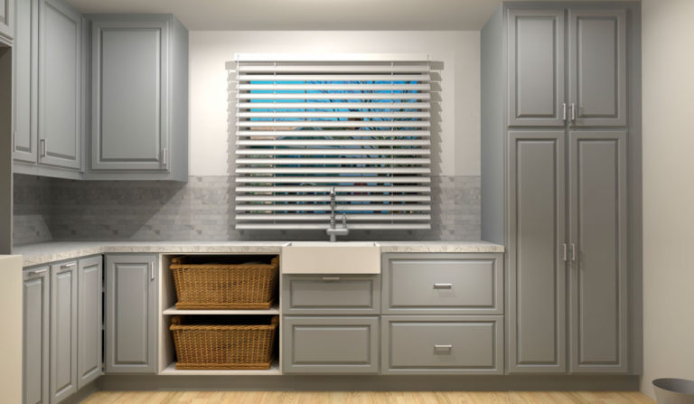 Three IKEA Laundry Room Designs Under $4000