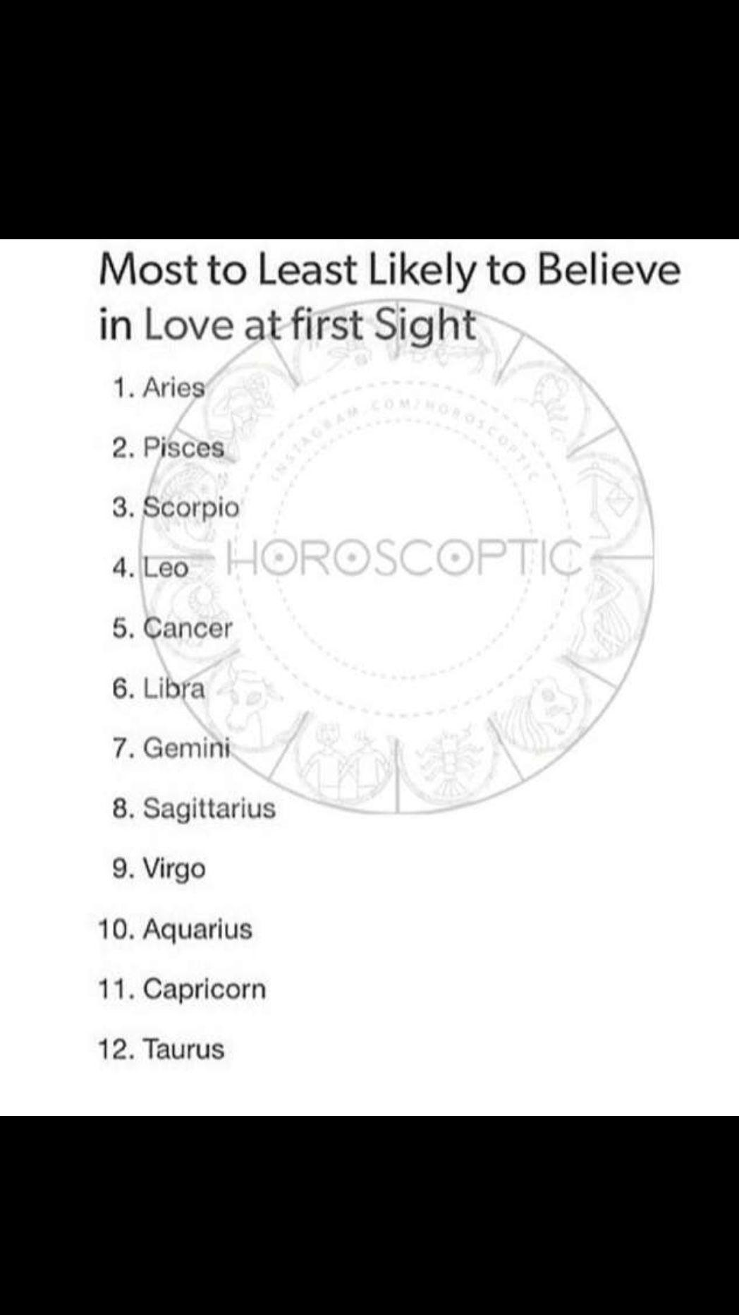 First aries love at sight woman man scorpio Aries Man