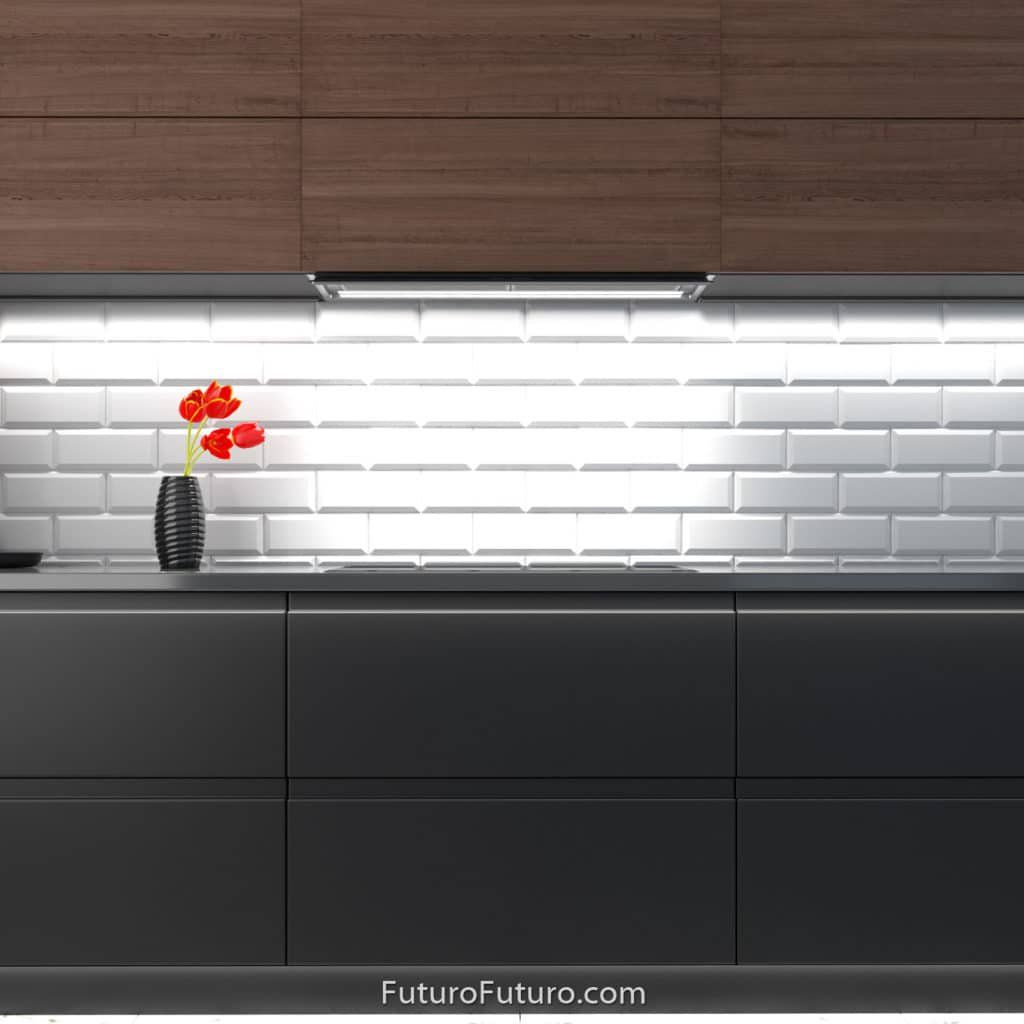 Built In Range Hood 36 Inch Decorsa Wall Model Futuro Futuro Brand Kitchen Design Kitchen Ventilation Modern Materials