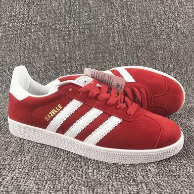 buy online c4aff a8d73 Adidas Originnals Gazelle Chinese Red White Cheap Priced 2018 Shoe