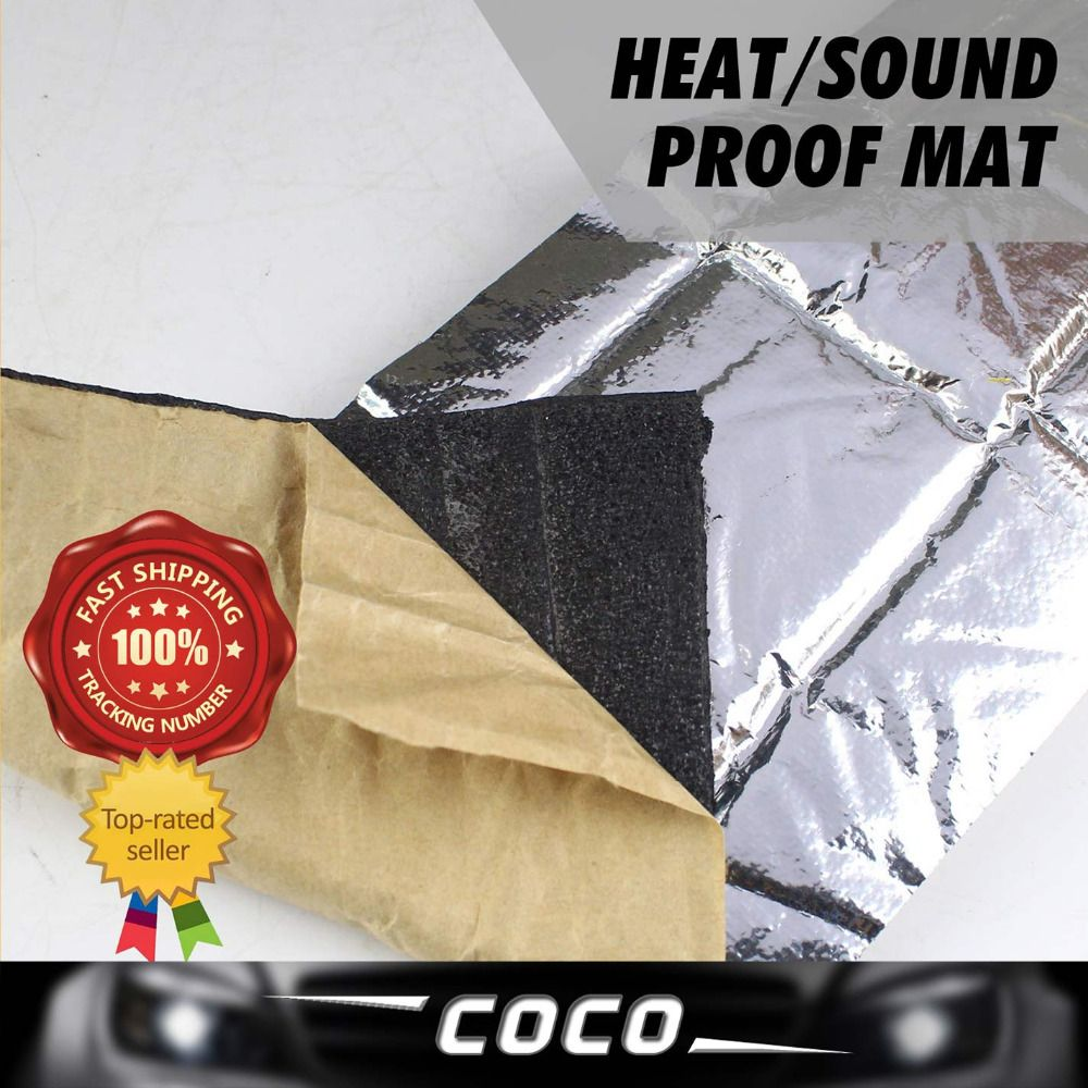 5pcs 100cm50cm 6mm deadening foil sound heat control
