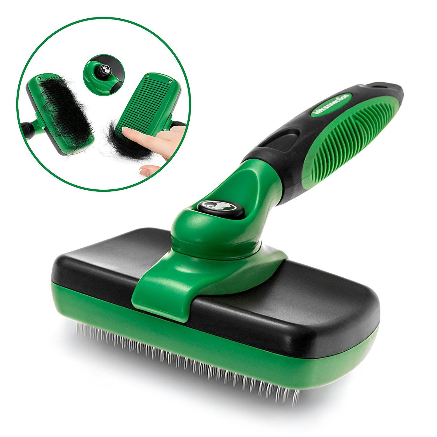 K9KONNECTION Professional Self Cleaning Slicker Brush for
