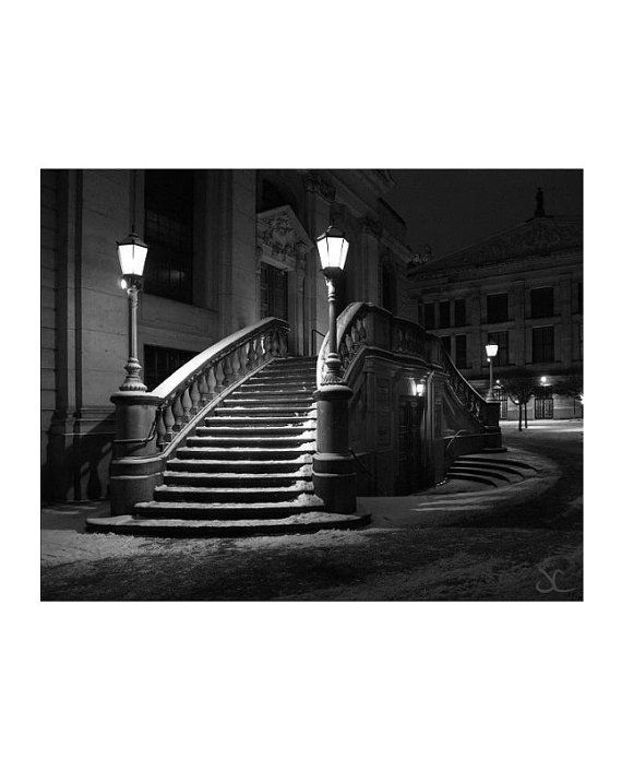 I have always been intrigued by the sense of tension invoked by the dark shadows, solitary figures of the night and the contrasts created from street