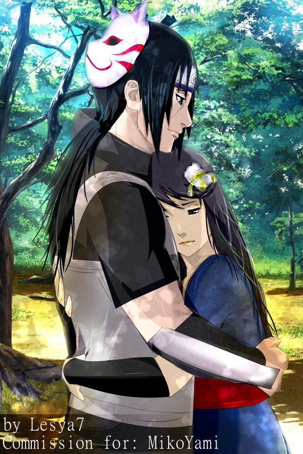 Commission: Yuki and Itachi by Lesya7 on DeviantAr
