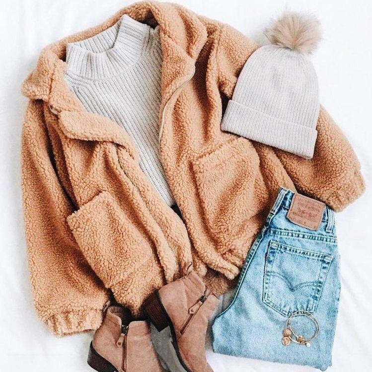 Cozy Teddy Bear Jacket