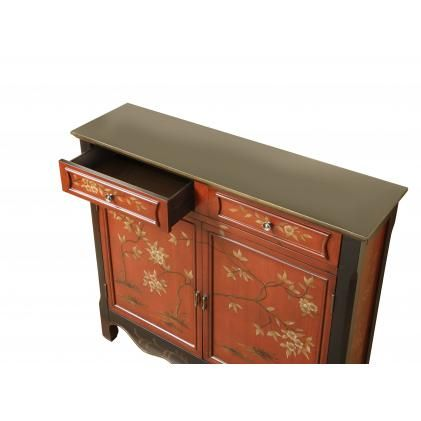 Japanese Maple Console Table