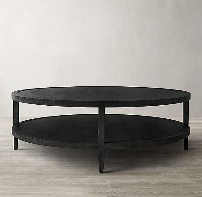 French Contemporary Round Coffee Table Coffee Table Round Coffee Table Coffee Table Wood