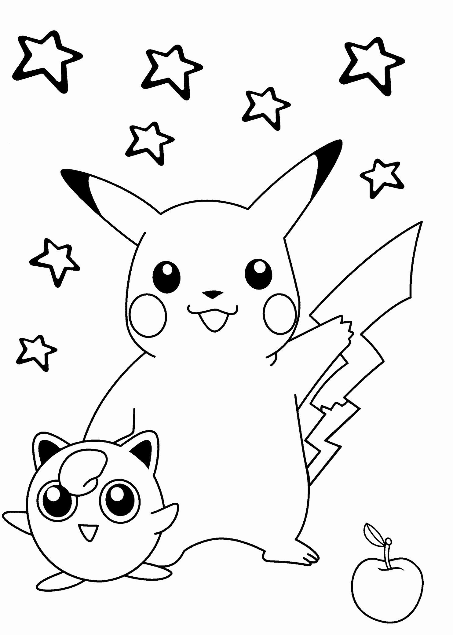 Pokemon Logo Coloring Pages Unique Sleeping Pikachu Coloring Pages
