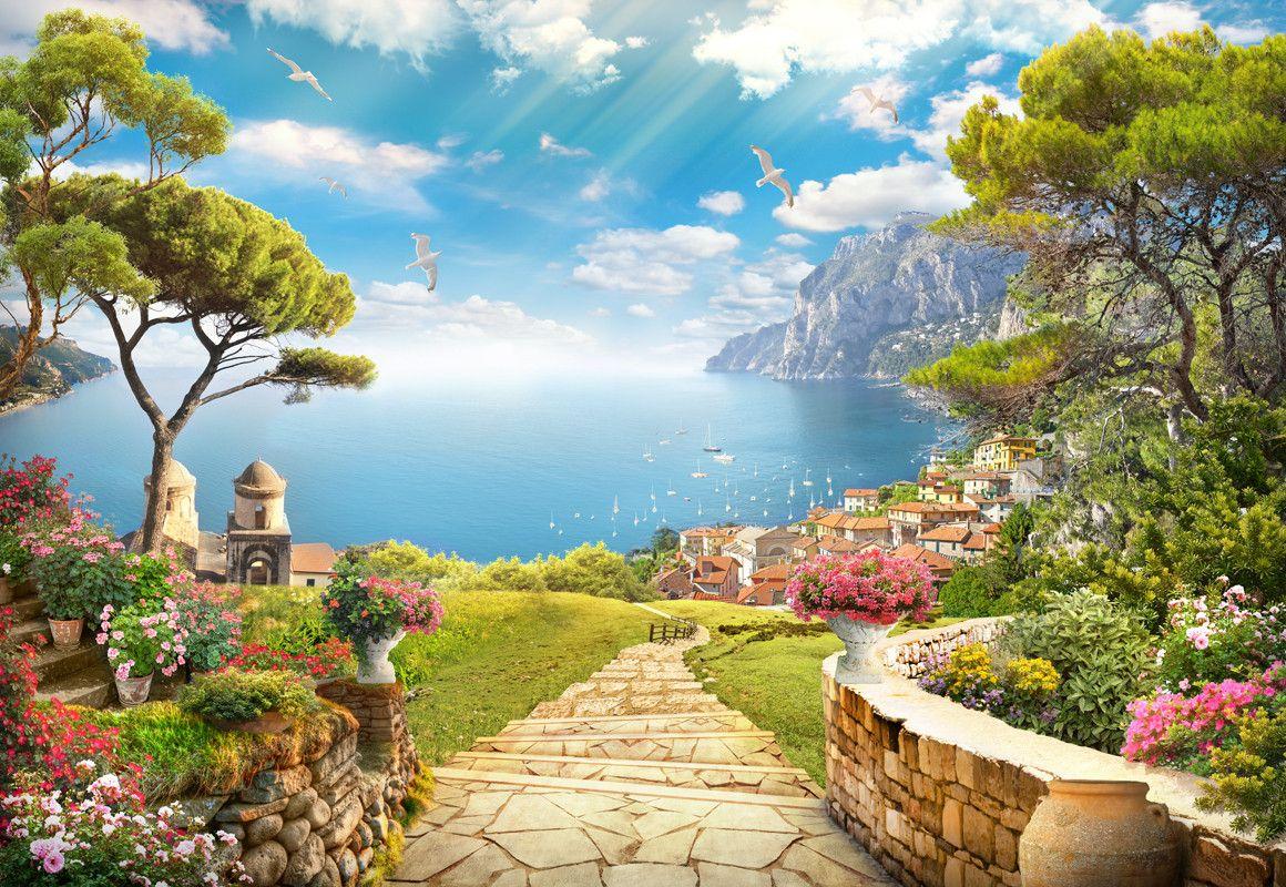 позирует картинки весенняя природа средиземноморье дополнение