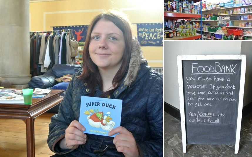 Childrens books given away at foodbanks books children