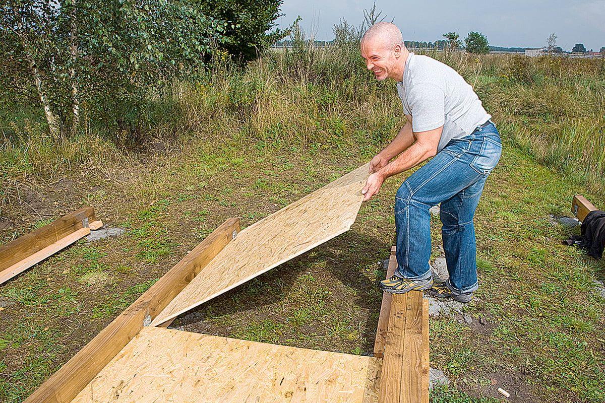 Gartenhaus Selber Bauen Schritt Fur Schritt 1 Bauabschnitt Mit Gratis Anleitung Gartenhaus Selber Bauen Fundament Gartenhaus Gartenhaus