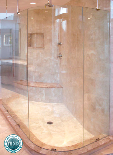 Love This Custom Shower Idea This Customer Decided To Add A