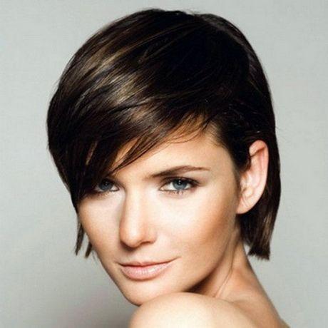Cortes pelo corto para mujeres cara alargada