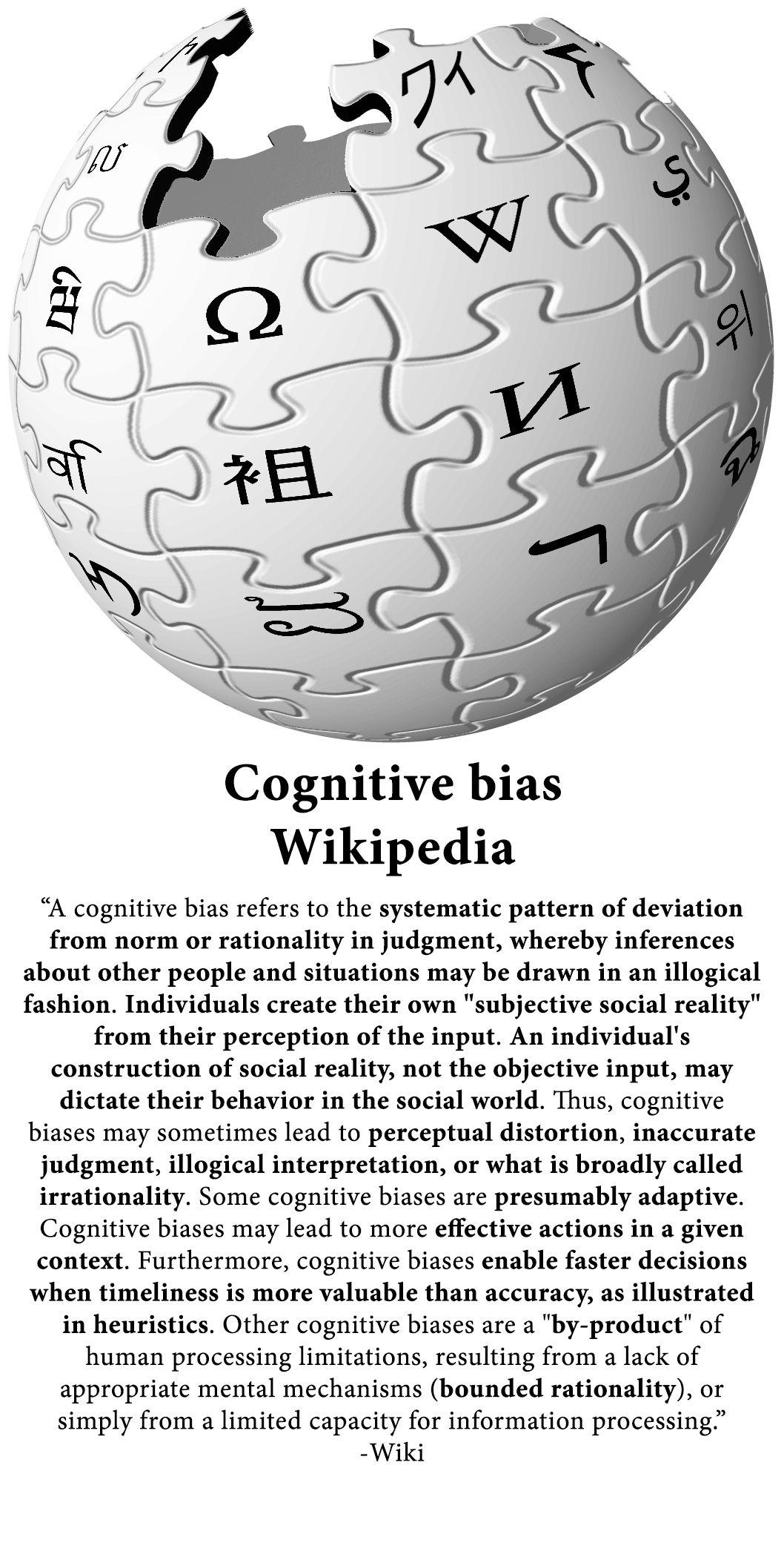Cognitive Bias Wikipedia Cognitive bias, Liar paradox