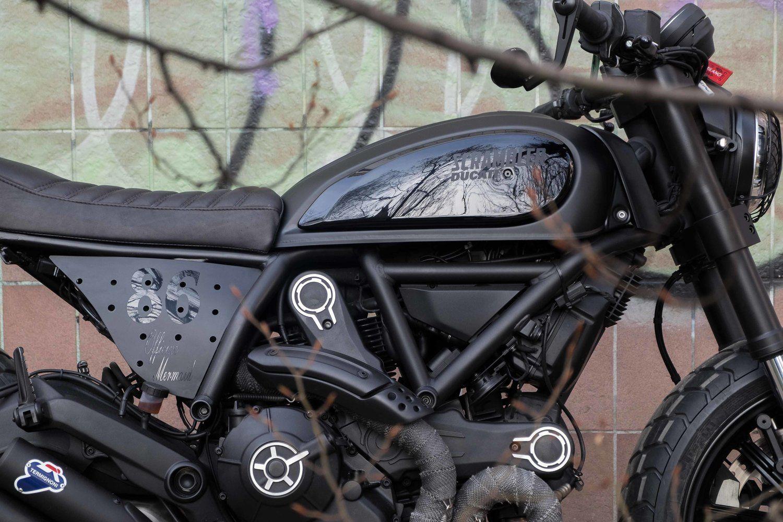 Ducati Scrambler 800 Nightowl Officine Mermaid Scrambler