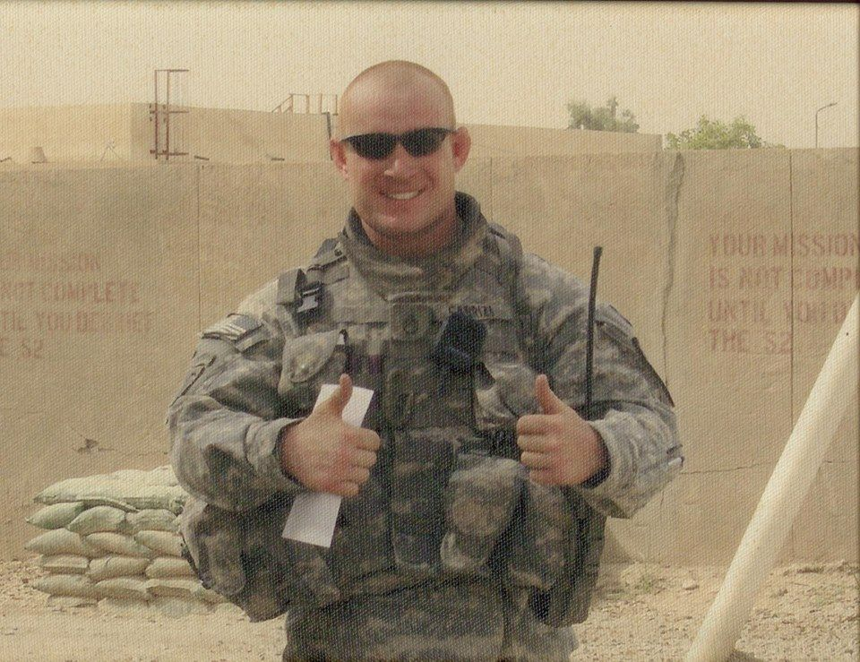 SFC Jason John Fabrizi. Our true hero. KIA July 14,2009 -Mary