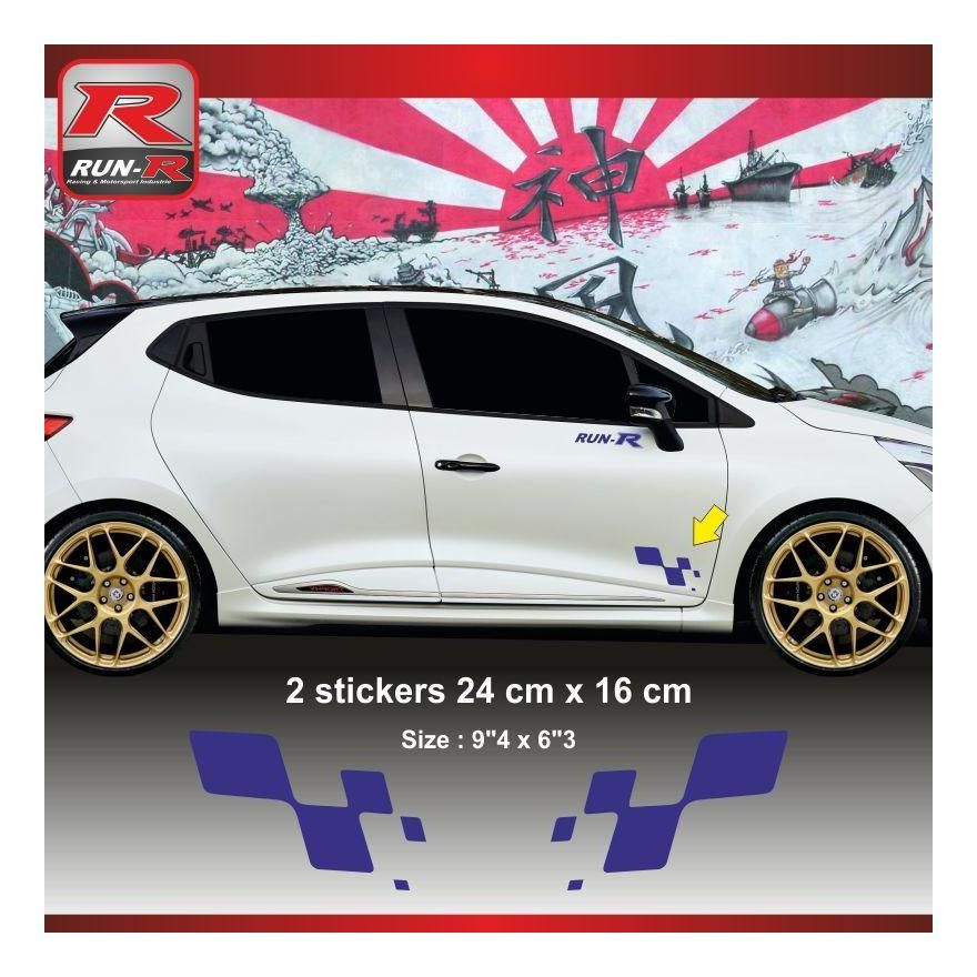 GT Stickers Autocollants  Clio RS megane RS Twingo