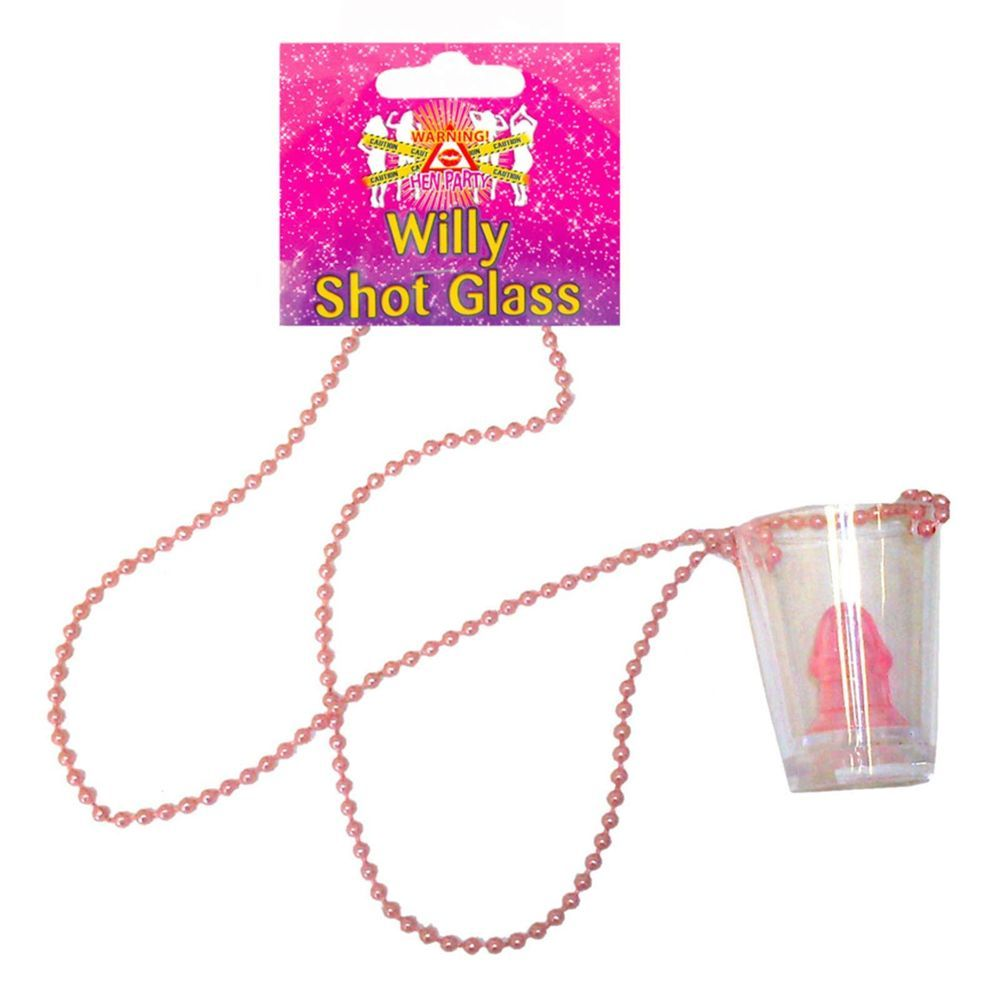 Hen Night Hen Party Willy Shot Glasses Party Bag Fillers Ideas ...