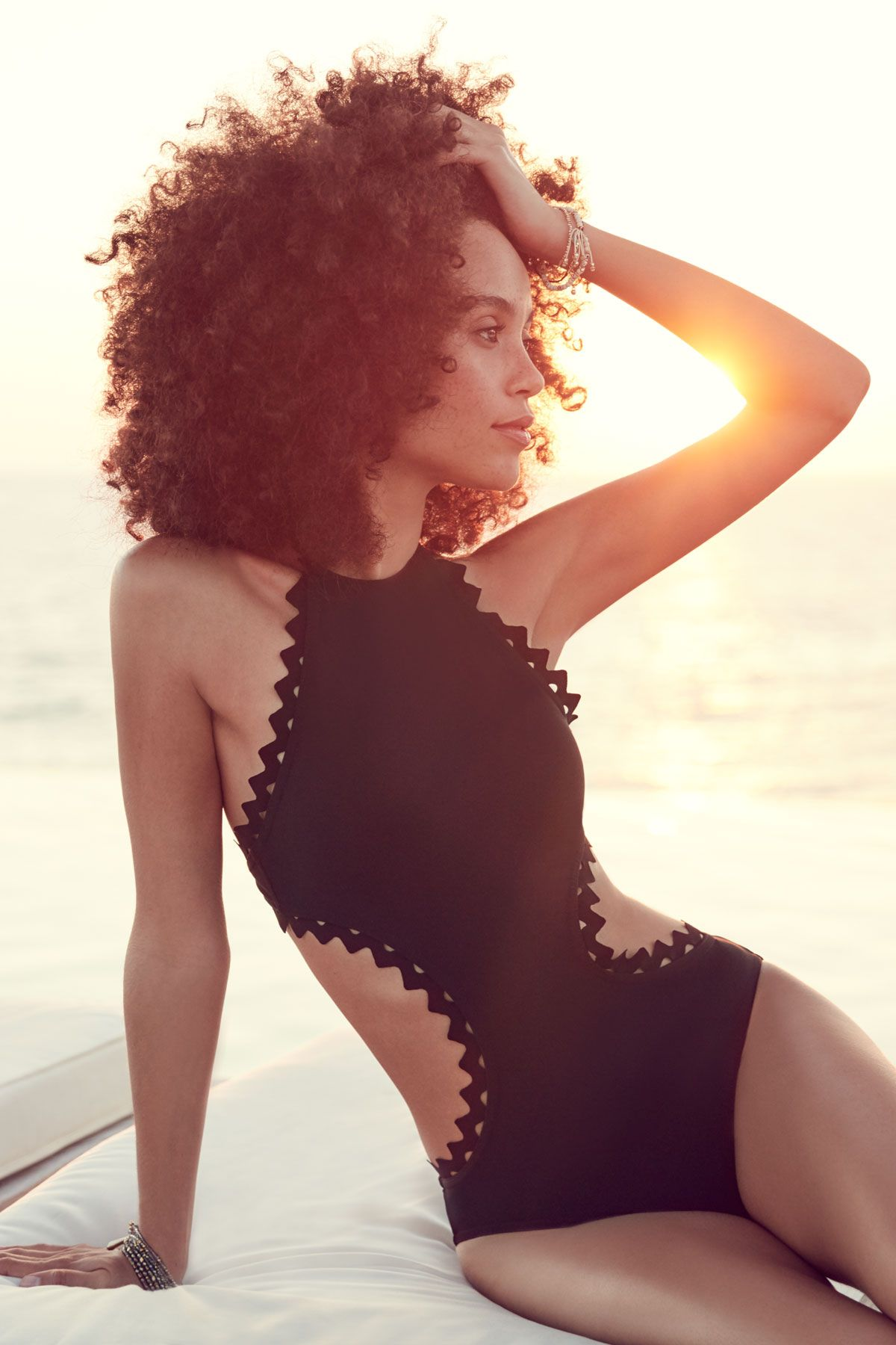 bca368c2d8f Karla Colletto's Rick Rack One Piece Monokini Halter | Everything But Water