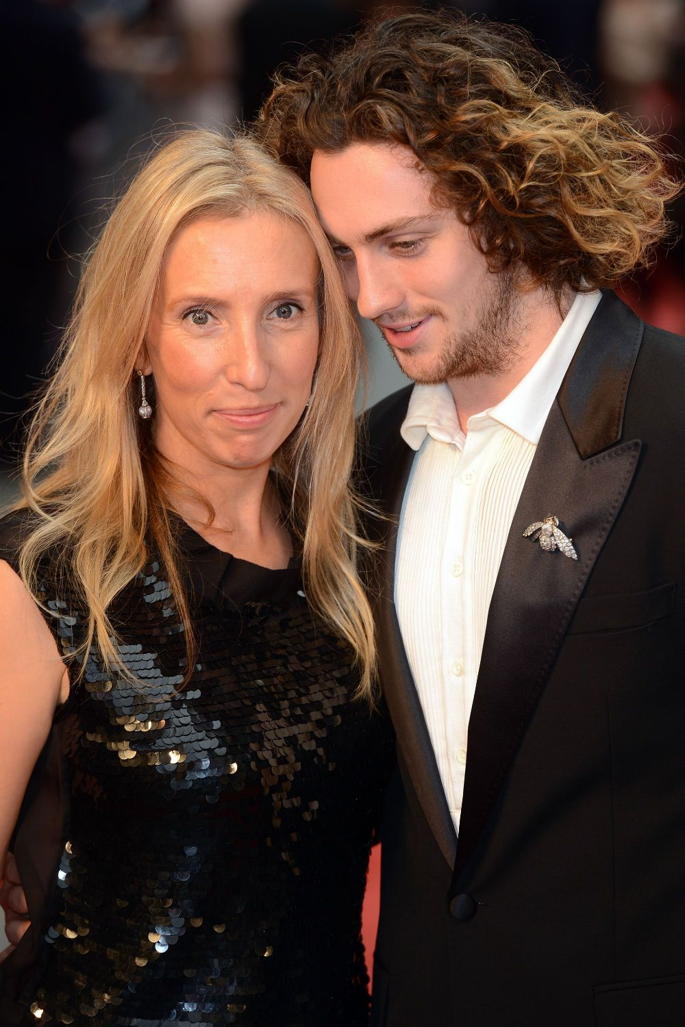 Aaron Taylor-Johnson and his wife | Aaron taylor johnson ...