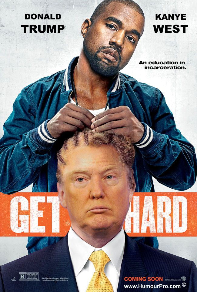 Donald Trump Kanye West in Get Hard