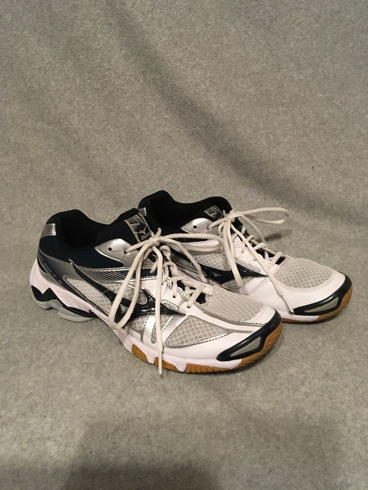ece14650bdaa MIZUNO WAVE BOLT 4 WOMENS INDOOR VOLLEYBALL Shoes size 11.5 WHITE NAVY  SILVER #fashion #clothing #shoes #accessories #womensshoes #athleticshoes  (ebay link)