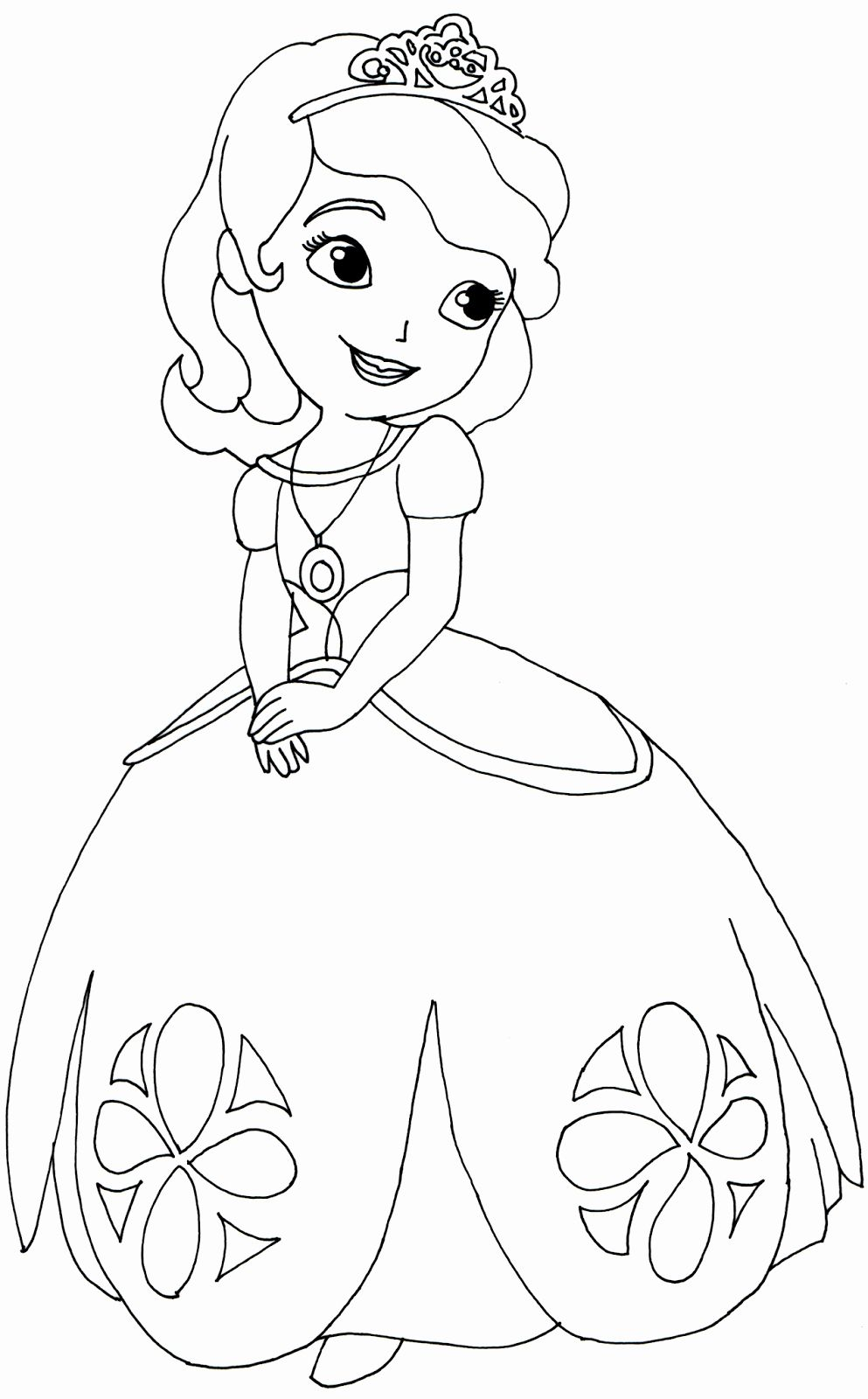 24 Sofia The First Coloring Book Princess Coloring Pages Disney