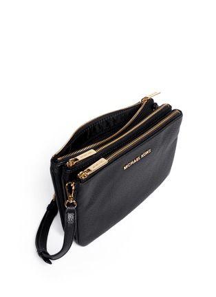 8029f065ab03 MICHAEL MICHAEL KORS - Bedford gusset leather cross-body bag | Black Day  Shoulder Bags | Womenswear | Lane Crawford