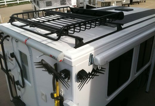 Hallmark Roof With Off Road Options Camper Modifications