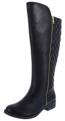 86fa1a5643b 25 Flat Knee-High Boots for Work. Affordable Tall Boot  DexFlex Tysen