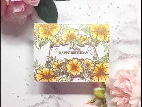 Spring 2017 Release Hop - Tropical Wildflower Birthday