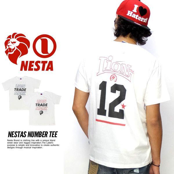 NESTA BRAND ネスタブランド Tシャツ メンズ 半袖Tシャツ ロゴプリントTシャツ 2015 秋冬 新作レゲエ・サーフ・ストリートカルチャーを融合した独自のスタイルで爆発的人気を誇るNESTA BRAND(ネスタブランド)から当店限定販売となる別注モデルTシャツが登場。フロントにはトレードマークロゴ、バックにはナンバリングがプリントされた今期特に人気の高いスポーティなグラフィックデザイン「ネスタズナンバー」。ボディはやや薄手のソフトなコットン生地を採用。柔らかな肌触りでメインにはもちろん、インナーとしても楽しんでいただけます。ネック部分には別注モデルならではのブルータグが入った特別感のある一枚に仕上がっています。【ブランド名】NESTA BRAND(ネスタブランド)【スタイル名】NESTAS NUMBER TEE【素材】コットン100%