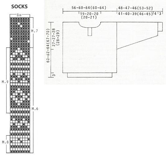 DROPS nordisk genser i Karisma med mønster og lus + strømper og lue ~ DROPS Design