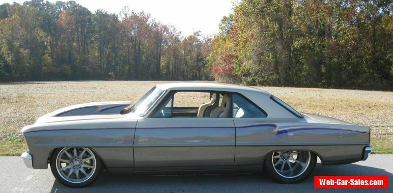 Car For Sale 1966 Chevrolet Nova Custom Pro Street