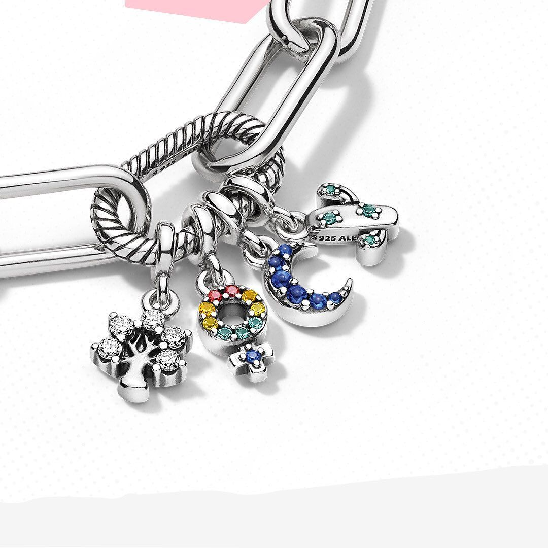braccialetti charms pandora