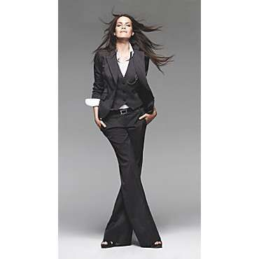 womens pinstripe suit - Executive! | Dresses & Tuxes | Pinterest