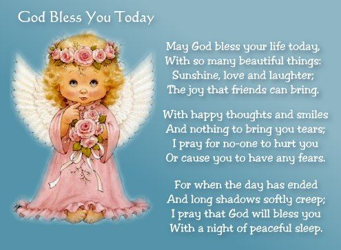 God Bless you today!