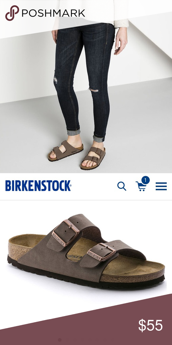 4ee32840734d Birkenstock Women s Sandals Birkenstock sandals in Arizona style. These are  in the color mocha.