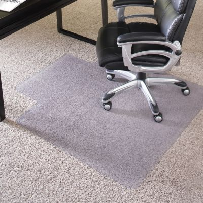 Staples 45 X 53 Chair Mat For High Pile Carpet With Lip Vinyl 20362 Cc Staples In 2021 Clear Chairs Clear Office Chair Office Chair Mat Chair mats for high pile carpet