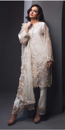0c958e2ebd Ivory Mist Pakistani Fashion 2017, Pakistani Wedding Outfits, Pakistani  Bridal Wear, Pakistani Suits