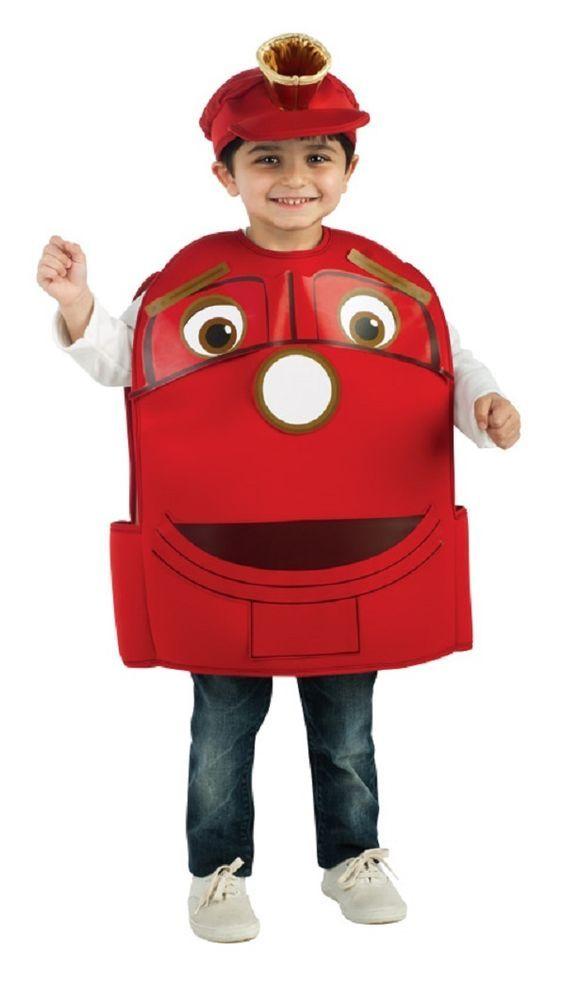 Wilson Chuggington Train Trainee Fancy Dress Up Halloween Toddler