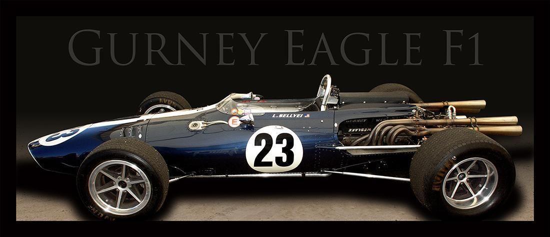 Gurney Eagle F1 Car Wheels I Love... Racing, Car