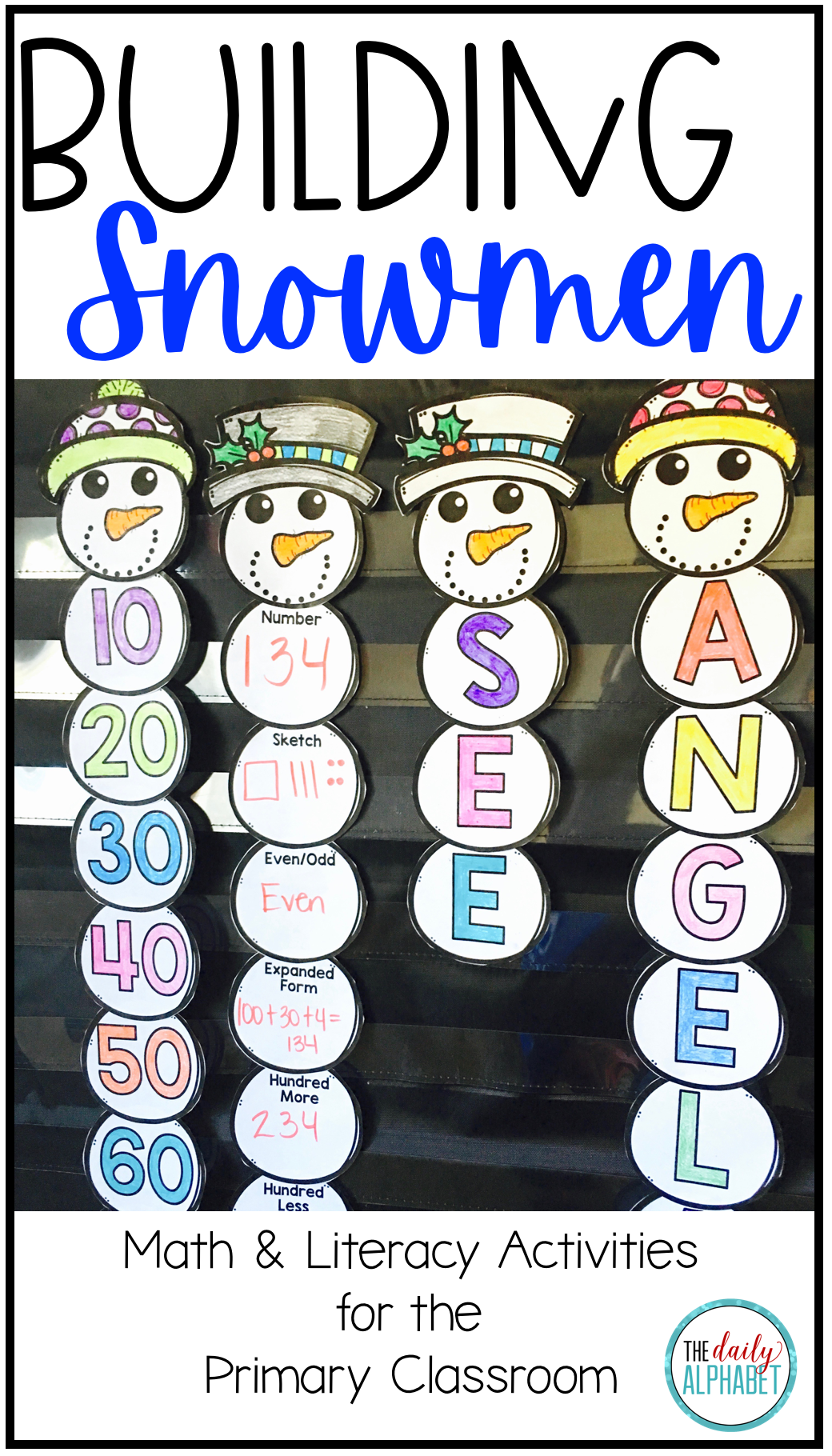 Building Snowmen A Winter Activity In With Images